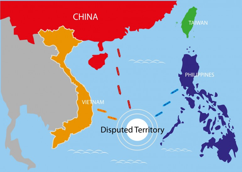 The South China Sea Dispute Between China And America