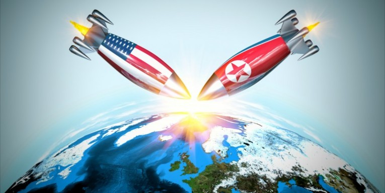 Mr. Trump V. Kim Jong Un